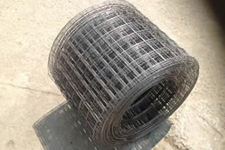 A roll of brick welded mesh