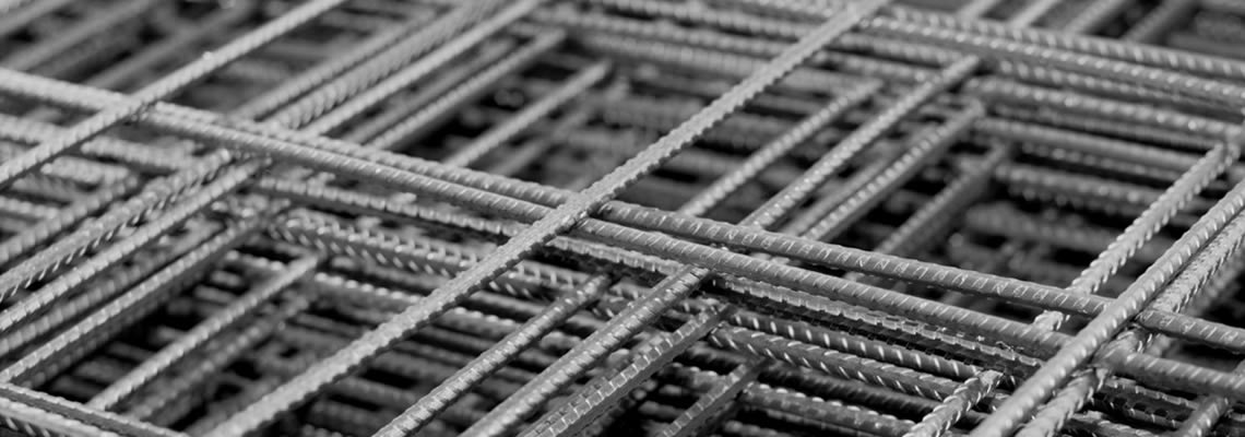 Square welded mesh panels